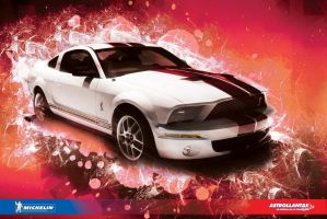 Mustang Car Wallpaper by kristinahetfield