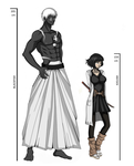 height difference - blackfish x kasumi by THE-DARK-MIA