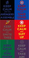 Keep Calm - Avengers Assemble - Complete Collectio by boozer11