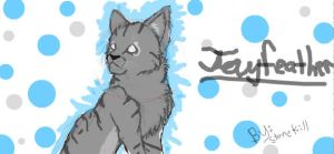 Jayfeather-facebook graffiti by Stonekill