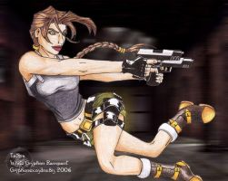 Lara Croft: Angel of Darkness by WhiteGryphonRampant