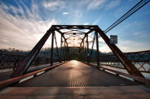 Steel Bridge by Bawwomick