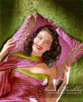 Ava Gardner ~~ 1944 ~~ colourised by Maria-Musikka