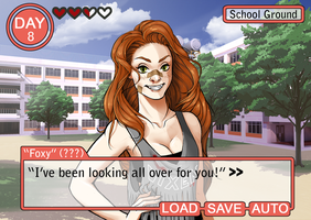 College Dating Sim: Foxy by Ask-FoxyQueen