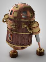 R2D2 Steampunk (WIP) by turboniko