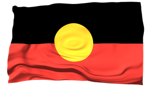 Flags of the World: Australian Aboriginal by MrAngryDog
