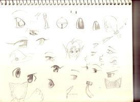 anime eye sketch by inupuppy1412