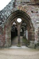 Tintern Abbey 4 - Stock by OghamMoon