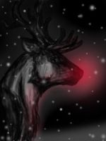 Rudolf the red nosed Reindeer by Amanouzume
