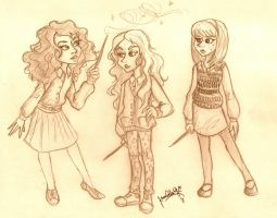 HP Girls by TottieWoodstock