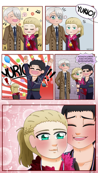 YOI: TFW your stepdad is a dork but you love him by MegaAnimeFreak7