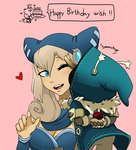 Happy Birthday Wish by FlowersIMH