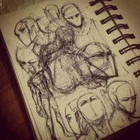 Train sketchies by PsychedelicMind