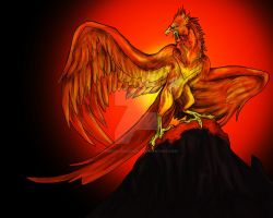 Firebird by Cerberus-Dragonfly