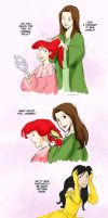 Disney Princesses: Dress Up by laurbits