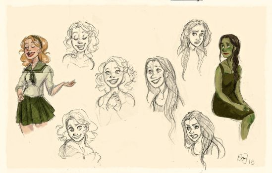Wicked Sketch Dump by Hellomynameisbasil