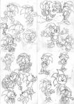 Archie Sonic Sketches by Geexy-Thingie