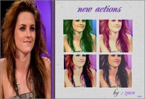 New Actions by Zara-Girl