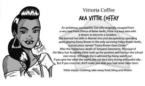 Character bio - Vittie by Mary-Sue-Academy