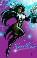 Gamma Irradiated Zatanna By johnnyharadrim by cerebus873