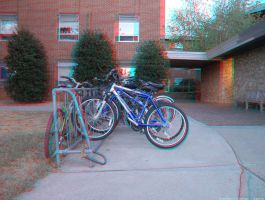 First Anaglyph 3d image by FoxMcCarther