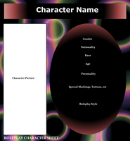 Roleplay Character Sheet (BLANK) by Midnyte-Wolff