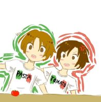 Romano wants his tomato by MaJuSve