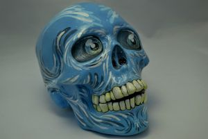 Amazing realistic skull! by CandyCherep
