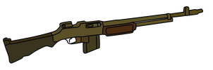 M1918 Browning Automatic Rifle by WhellerNG