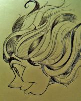 Hair in the Wind by BenjiLion09
