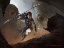 Huntress by Anthony Devine by AnthonyDevine