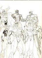 Another Justice League by Taj-P