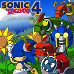 Sonic 4 OST boxart by adamis