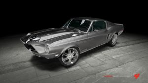 Shelby GT-500KR - Gone in 60 Seconds - Eleanor by OutcastOne