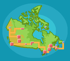 Canada Pokemon Region by ForestIlex