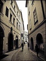 Prague streets 5 by Csipesz