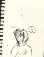Sketch Diary Doodles : Signless hooded by Roseprincess1