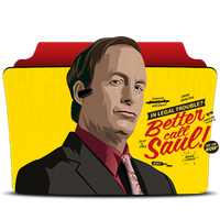 Better Call Saul Folder Icon by fardadhhh