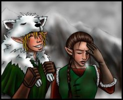 Wolfos are Nice and Warm by xx--ingie--xx
