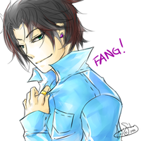Male Fang by MadameWinter