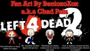 Left 4 Dead 2 Fan Art (Infected) by BenioxoXox