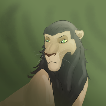 Loki Lion by BRITTxGAARA