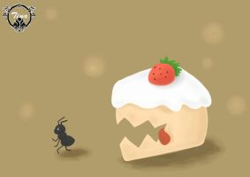 Cake_Monster by chiutina