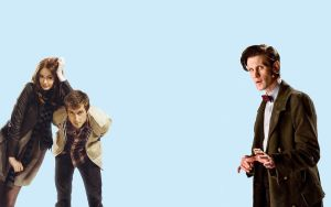 Doctor Who Background by burninggoodbyes