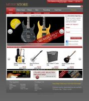 MusicStore Website by xnsx212