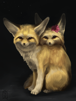 Gift: fennec by Brevis--art
