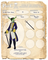 PotC: Admiral Addison App by Bloomins