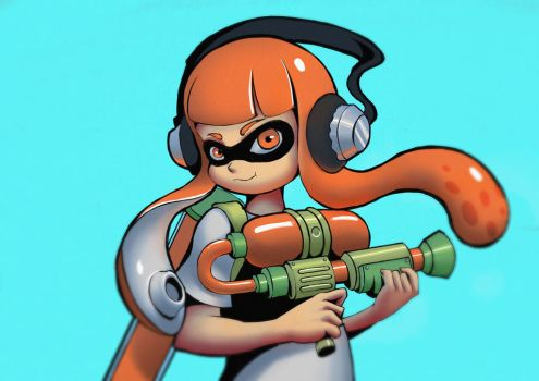 I'm a Kid Im a Squid by actrrrr