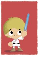 Luke Skywalker: Bubblehead by JeffVictor