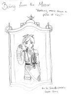 [KI] Being from the Mirror cover sketch by Hannaji